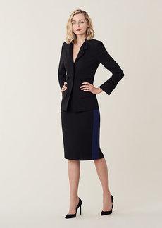 Diane Von Furstenberg Esteem Crepe Pencil Skirt