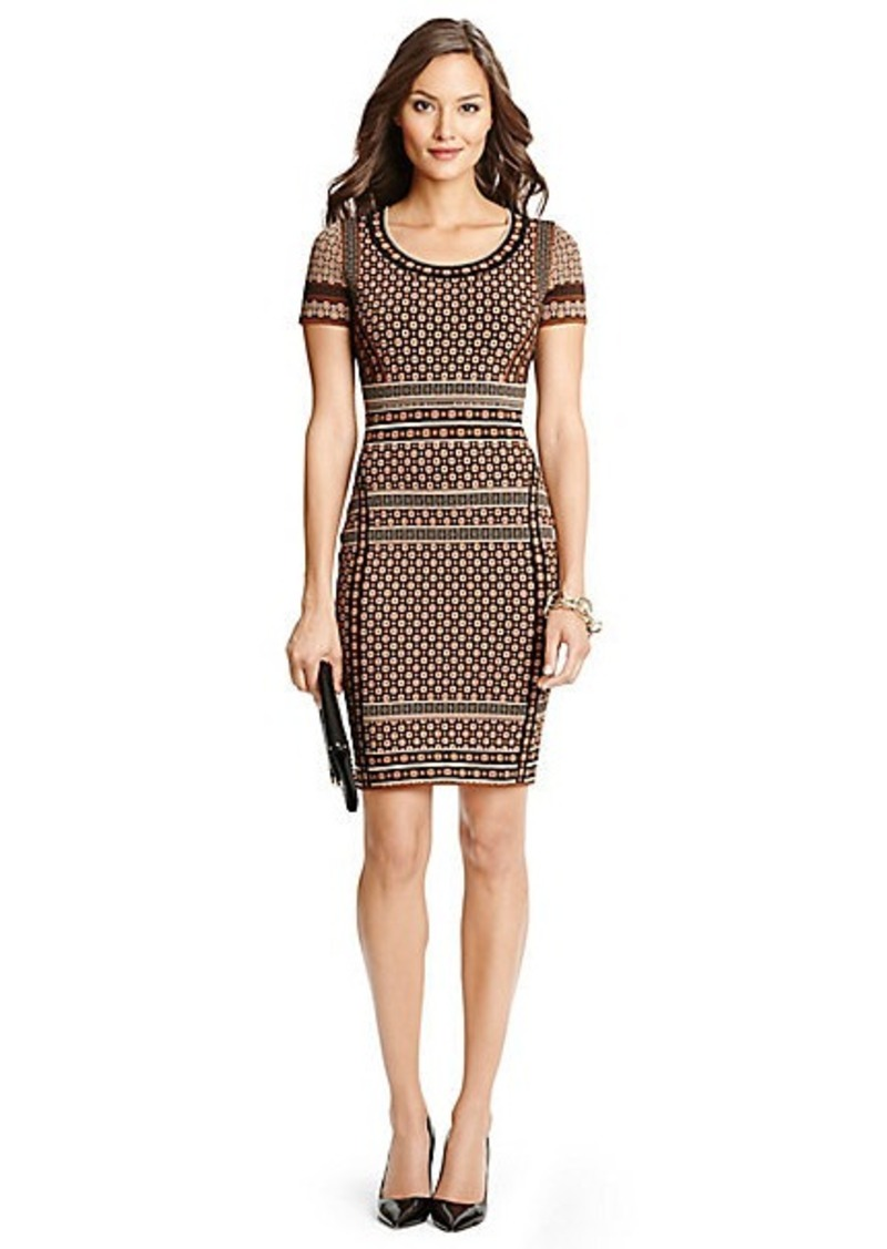 diane von furstenberg eve knit bodycon dress dresses shop it to me. Black Bedroom Furniture Sets. Home Design Ideas