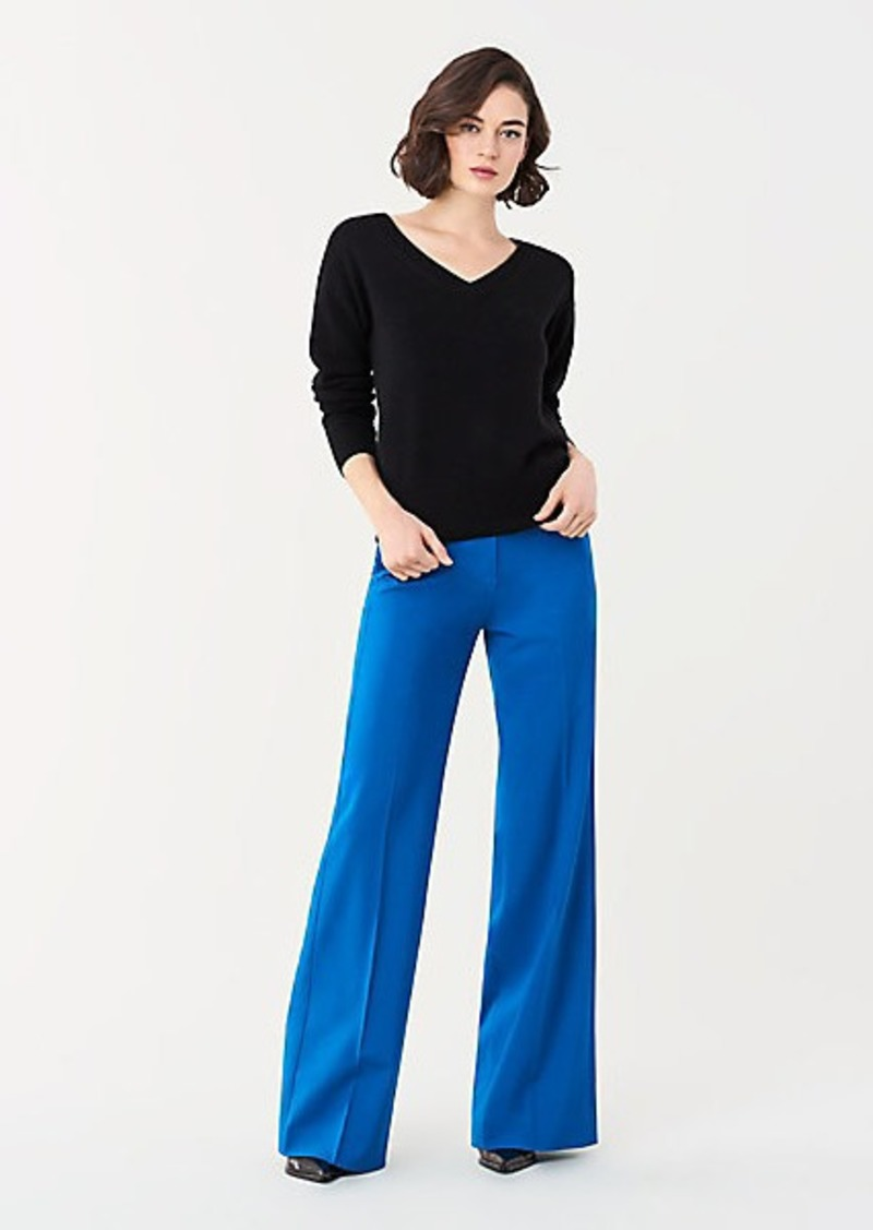 Diane Von Furstenberg Everest V-Neck Wool-Cashmere Sweater