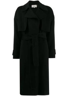 Diane Von Furstenberg Fann belted coat