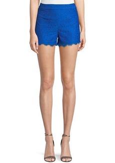 Diane Von Furstenberg Fausta Eyelash-Lace Shorts