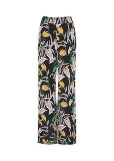 Diane Von Furstenberg Federica Silk Crepe de Chine Pants