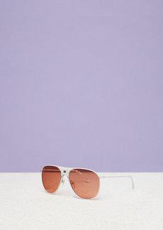 Diane Von Furstenberg Fiona Aviator Sunglasses