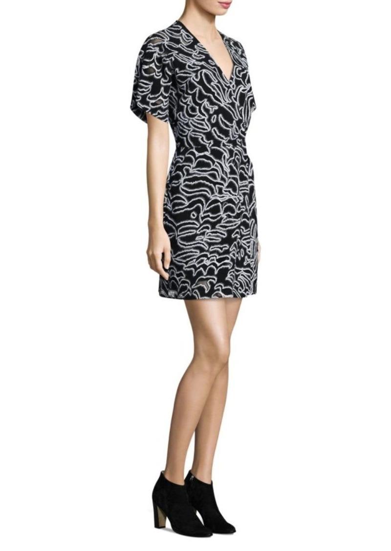 Diane Von Furstenberg Flare Mini Dress