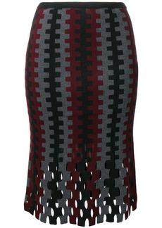 Diane Von Furstenberg flared knitted skirt