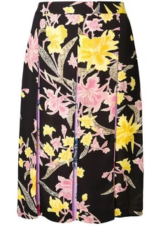 Diane Von Furstenberg floating bouquet skirt