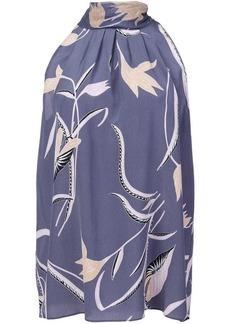 Diane Von Furstenberg floral print blouse