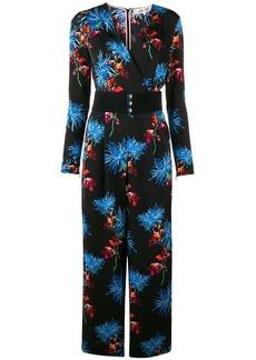 Diane Von Furstenberg floral print jumpsuit