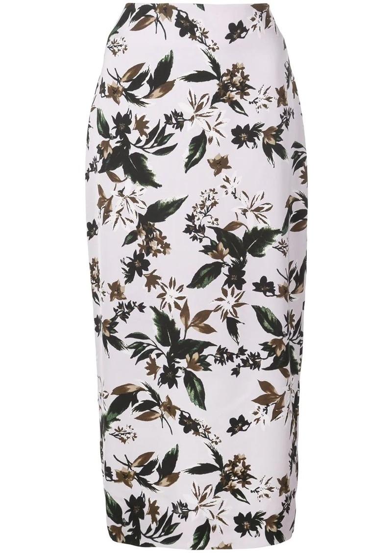 Diane Von Furstenberg floral-print skirt