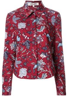 Diane Von Furstenberg floral printed shirt