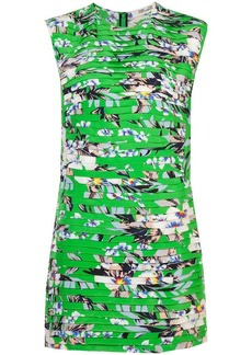 Diane Von Furstenberg floral shift dress