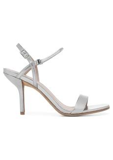 Diane Von Furstenberg Frankie Metallic Leather Sandals