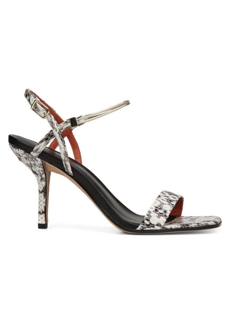 Diane Von Furstenberg Frankie Snake Sandals
