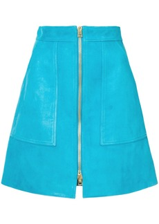 Diane Von Furstenberg front zip skirt