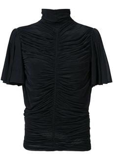 Diane Von Furstenberg gathered blouse