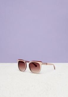 Diane Von Furstenberg Gemma Oversized Square Sunglasses