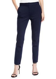 Diane Von Furstenberg Genesis Ponte Straight-Leg Pants