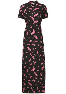 Diane Von Furstenberg Georgia maxi shirt dress