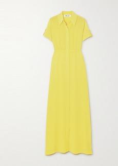 Diane Von Furstenberg Georgia Silk Crepe De Chine Maxi Dress