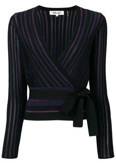 Diane Von Furstenberg glitter knit jumper