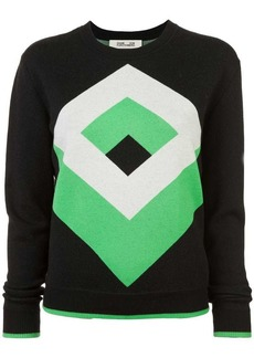 Diane Von Furstenberg graphic design jumper