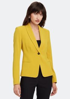 Diane Von Furstenberg Halzie Single Button Blazer