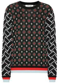 Diane Von Furstenberg Hari wool-blend swetaer