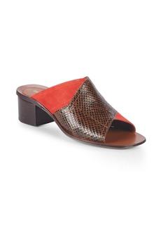 Diane Von Furstenberg Hazel Textured Classic Sandals