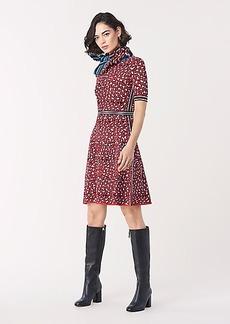 Diane Von Furstenberg Heda Jacquard Knit Mini Dress