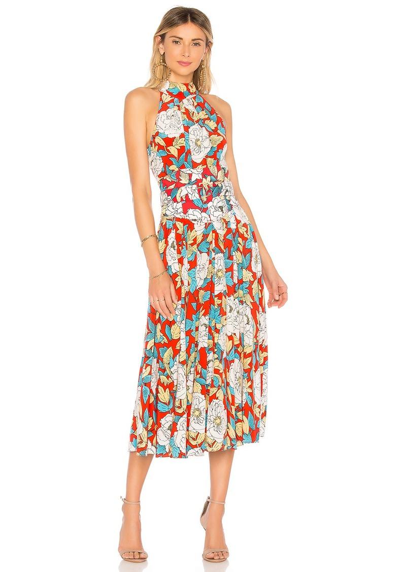 0f750413e015 Diane Von Furstenberg High Neck Halter Dress