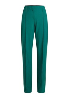 Diane Von Furstenberg High-Waist Wool Pants