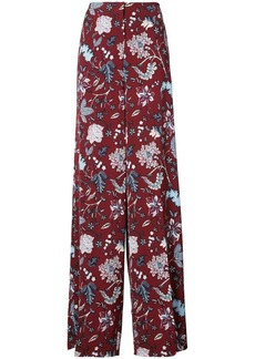 Diane Von Furstenberg high-waisted palazzo trousers
