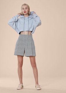 Diane Von Furstenberg High-Waisted Shorts