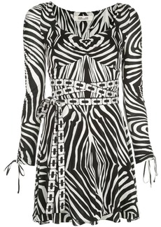 Diane Von Furstenberg Hollis Swarovski-embellished mini dress