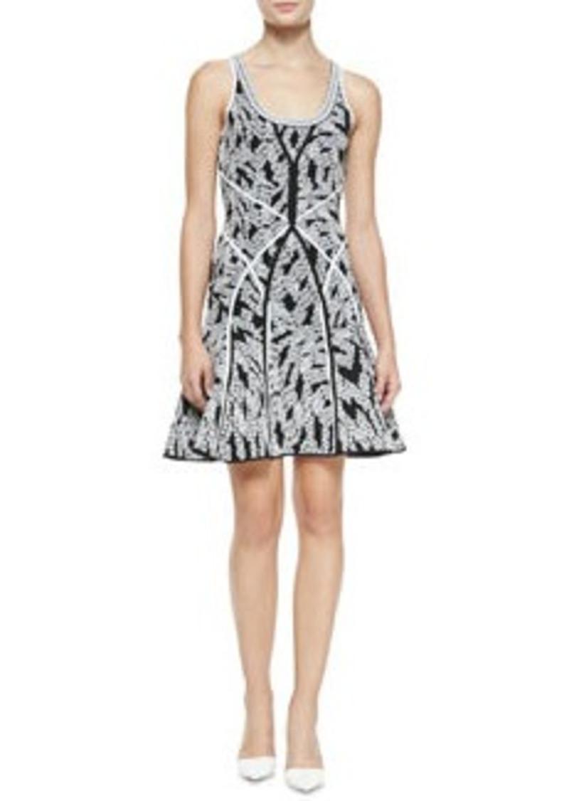 Diane Von Furstenberg Ilsa Fit-and-Flare Sleeveless Dress   Ilsa Fit-and-Flare Sleeveless Dress