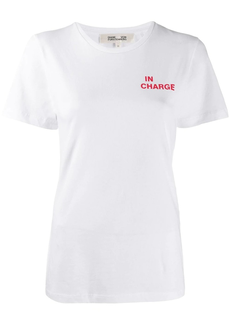 Diane Von Furstenberg In Charge T-shirt