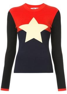 Diane Von Furstenberg intarsia star jumper