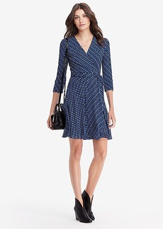 Irina Silk Jersey and Chiffon Wrap Dress