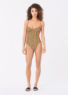 Diane Von Furstenberg Isabella One-Piece Swimsuit