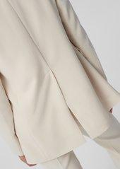 Diane Von Furstenberg Isla Layered Blazer in Ivory