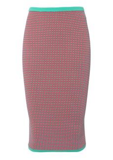 Diane Von Furstenberg Jacquard Pencil Skirt