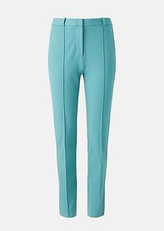 Diane Von Furstenberg James Stretch-Crepe Straight Pants