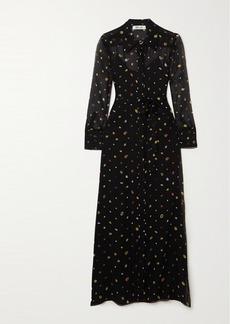 Diane Von Furstenberg Jean Michel Printed Silk-chiffon Maxi Dress