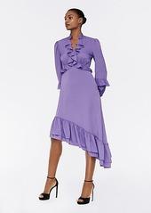 Diane Von Furstenberg Jill Crepe de Chine-Blend Dress