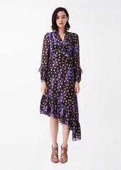 Diane Von Furstenberg Jill Sheer-Jacquard Dress
