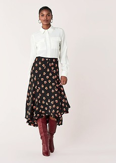 Diane Von Furstenberg Jovanna Silk Crepe de Chine Shirt