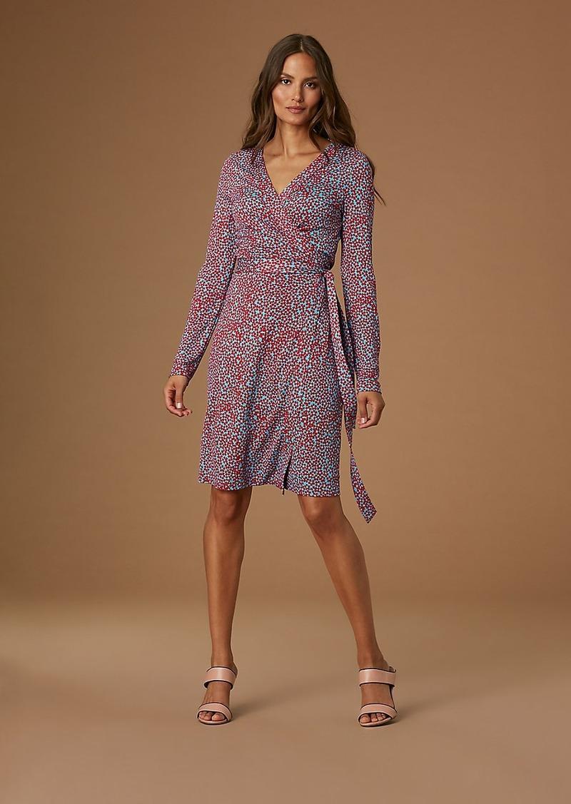 68d51d27efc Diane Von Furstenberg Julian Banded Silk Jersey Wrap Dress | Dresses