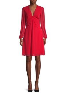 Diane Von Furstenberg Kala Twist Bodice Dress