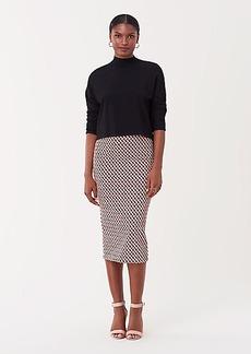 Diane Von Furstenberg Kara Jacquard Pencil Skirt