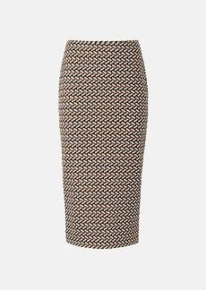 Diane Von Furstenberg Kara Knit Jacquard Pencil Skirt